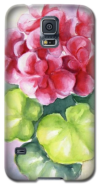Galaxy S5 Case featuring the painting Room Plant by Inese Poga