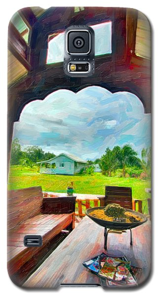 Room With A View Galaxy S5 Case by Nadia Sanowar