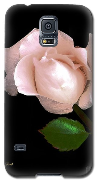 Rose Bud Galaxy S5 Case