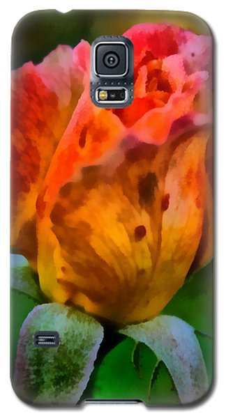 Galaxy S5 Case featuring the painting Rose by Lynne Jenkins