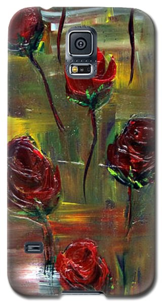 Roses Free Galaxy S5 Case by Kathy Sheeran