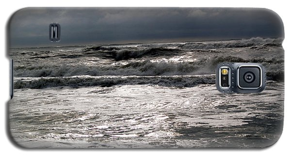 Rough Waves 3 Galaxy S5 Case by Deborah Hughes