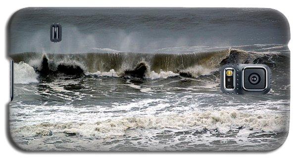 Rough Waves 4 Galaxy S5 Case by Deborah Hughes