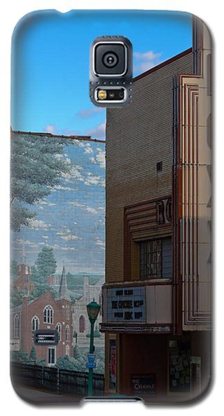 Roxy Theater And Mural Galaxy S5 Case