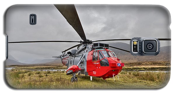 Royal Navy Sar Sea King Xz920 Glencoe Galaxy S5 Case