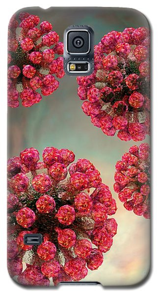 Rubella Virus Particles Galaxy S5 Case