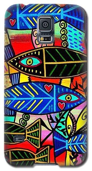 Ruby Coral Fish Galaxy S5 Case