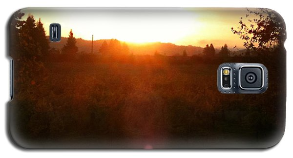 Russian River Sunrise Galaxy S5 Case