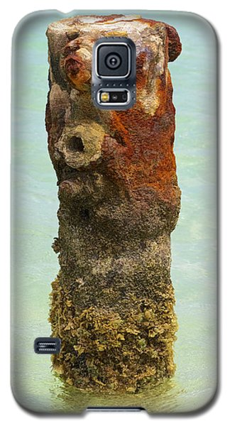 Rusted Dock Pier Of The Caribbean Vii Galaxy S5 Case