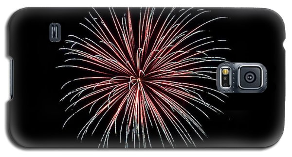 Galaxy S5 Case featuring the photograph Rvr Fireworks 12 by Mark Dodd