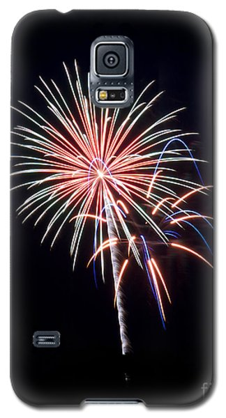Galaxy S5 Case featuring the photograph Rvr Fireworks 16 by Mark Dodd