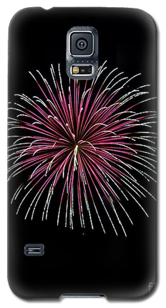 Galaxy S5 Case featuring the photograph Rvr Fireworks 8 by Mark Dodd