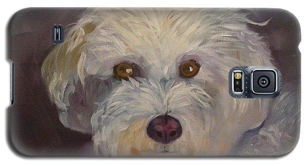 Galaxy S5 Case featuring the painting Sadie by Carol Berning