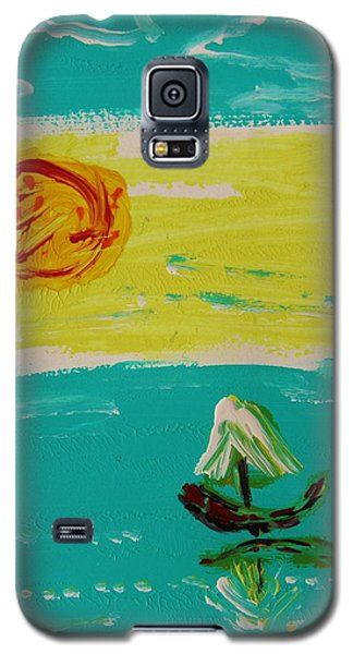 Sail And Hot Sun Galaxy S5 Case by Mary Carol Williams