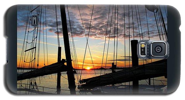 Sail At Sunset Galaxy S5 Case
