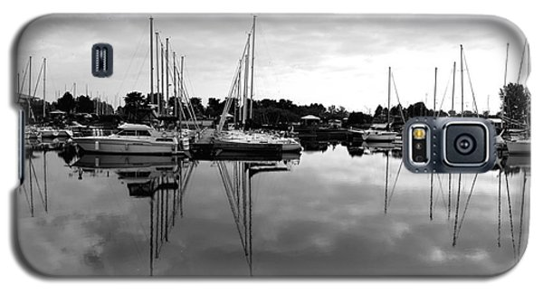 Galaxy S5 Case featuring the photograph Sailboats At Bluffers Marina Toronto by Susan  Dimitrakopoulos