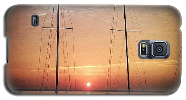 Sailboats In The Sunset Galaxy S5 Case