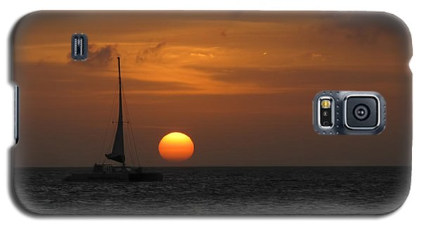 Galaxy S5 Case featuring the photograph Sailing Away by David Gleeson