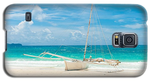 Sailing Boat Galaxy S5 Case by Hans Engbers