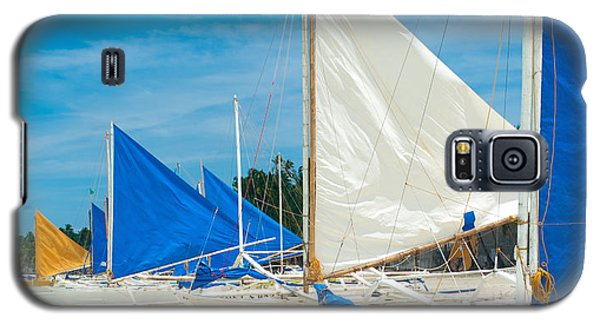 Sailing Boats Galaxy S5 Case by Hans Engbers