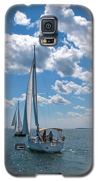 Galaxy S5 Case featuring the photograph Sailing by Cindy Haggerty