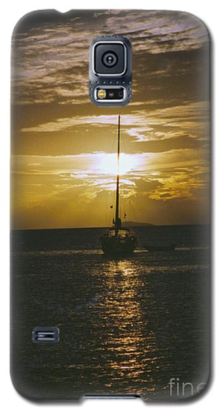Sailing Sunset Galaxy S5 Case