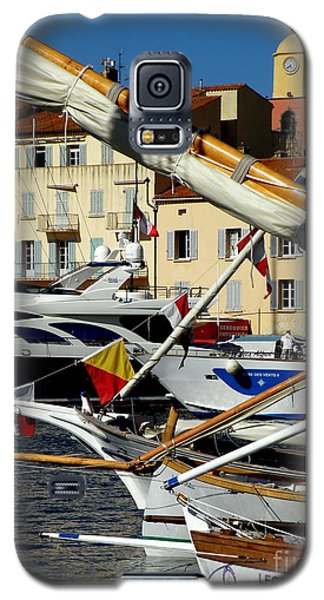 Galaxy S5 Case featuring the photograph Saint Tropez Harbor by Lainie Wrightson
