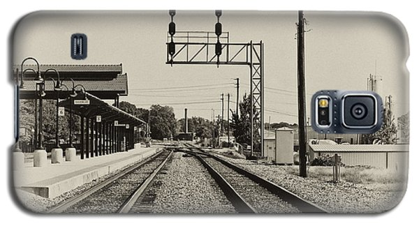 Salisbury North Carolina Depot Galaxy S5 Case by Wilma  Birdwell
