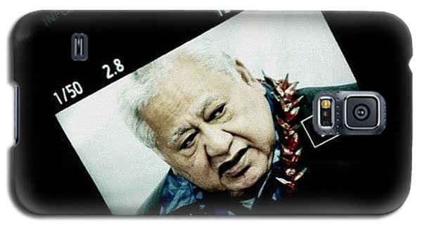 Political Galaxy S5 Case - Samoan Prime Minister #fuda #fairfax by Luke Fuda