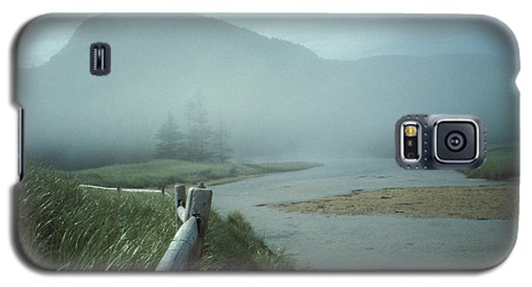 Sand Beach Fog Galaxy S5 Case