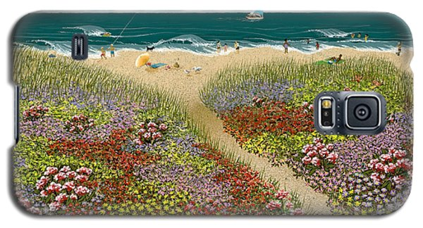 Sand Path Galaxy S5 Case by Katherine Young-Beck