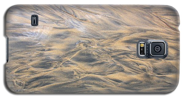 Galaxy S5 Case featuring the photograph Sand Patterns by Nareeta Martin