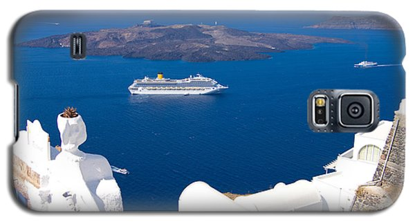 Santorini Cruising Galaxy S5 Case