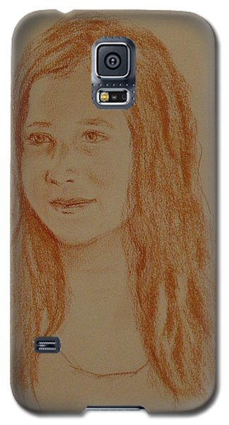 Galaxy S5 Case featuring the painting Sarah by Carol Berning