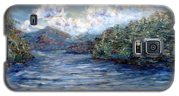 Saranac Lake On A Summer Evening Galaxy S5 Case by Denny Morreale