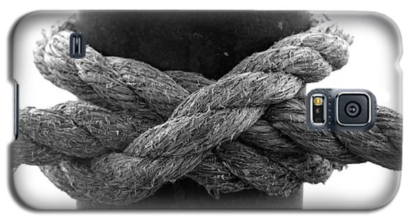 Saugerties Lighthouse Rope Knot Photograph Galaxy S5 Case by Kristen Fox