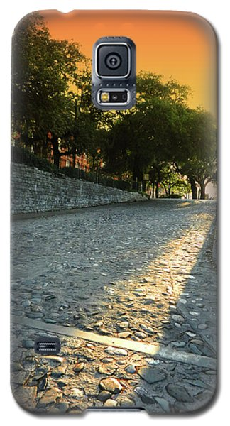 Galaxy S5 Case featuring the photograph Savannah Sunset by Paul Mashburn