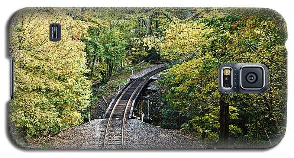 Scenic Railway Tracks Galaxy S5 Case