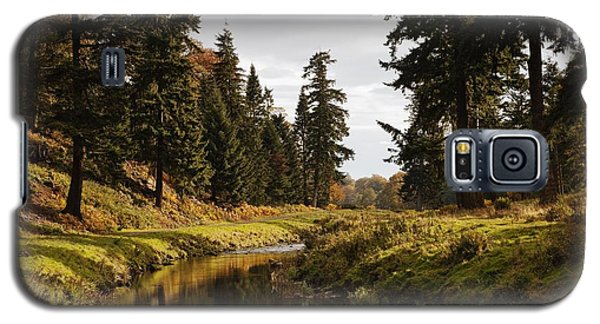 Scenic River, Northumberland, England Galaxy S5 Case by John Short