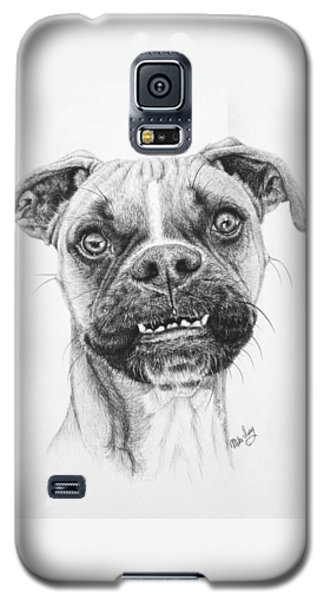 Galaxy S5 Case featuring the drawing Scout by Mike Ivey