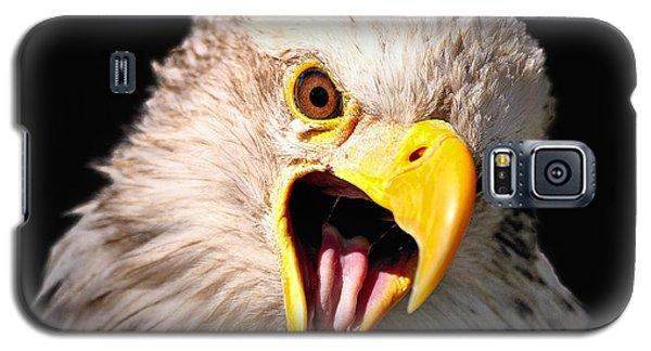 Screaming Eagle II Black Galaxy S5 Case