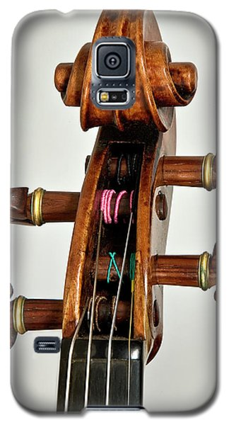 Galaxy S5 Case featuring the photograph Scroll Front by Endre Balogh