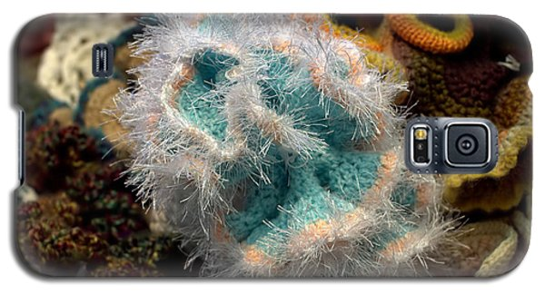 Galaxy S5 Case featuring the photograph Sea Anemone Crochet by Farol Tomson