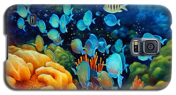 Sea Escape II - Wayward Fish Galaxy S5 Case