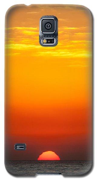 Sea Sunrise Galaxy S5 Case