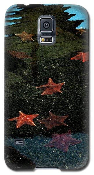 Galaxy S5 Case featuring the photograph Seastars by Karen Harrison