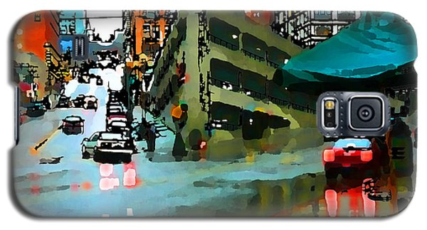 Seattle Parking Garage Galaxy S5 Case