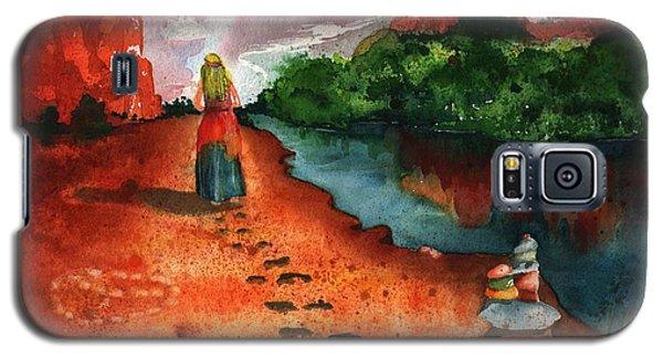 Sedona Arizona Spiritual Vortex Zen Encounter Galaxy S5 Case by Sharon Mick