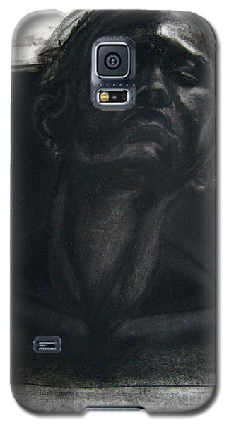 Galaxy S5 Case featuring the drawing Self Portrait 2008 by Gabrielle Wilson-Sealy