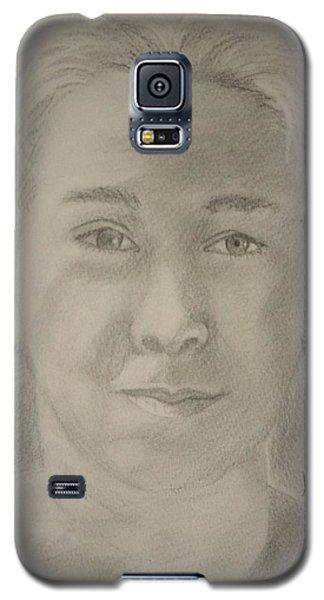 Selfportret Galaxy S5 Case by Manuela Constantin